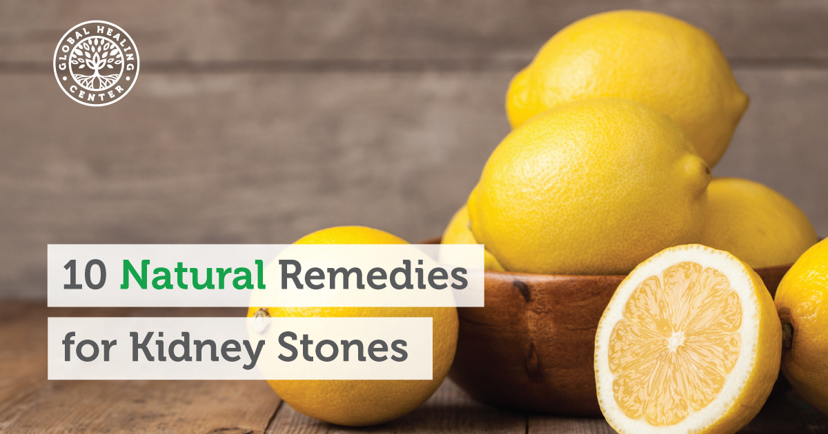 Dissolve Kidney Stones Naturally