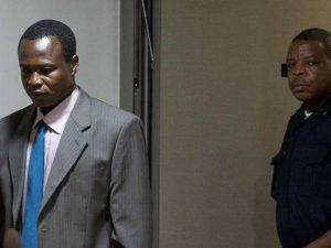 """""""To quiet her when she wept and screamed he threatened her with his bayonet,"""" she told the court, citing the witness's statement. And Ms Bensouda said the witnesses next year may include a girl who told investigators about Mr Ongwen's repeated rape of sex slaves.  """"Dominic was the worst when it came to young girls,"""" Ms Bensouda said, citing the witness. """"He has sex with them at a very young age."""" Mr Ongwen gave himself up last year after a decade on the run, and prosecutors specifically accuse him of commanding brutal assaults on four camps for internally displaced people in northern Uganda from October 2003 to June 2004. """"The evidence shows that Dominic Ongwen was a murderer and a rapist,"""" Ms Bensouda told the judges. She said his own past as a child soldier """"cannot begin to amount to a defence or a reason not to hold him to account for the choice that he made: The choice to embrace the murderous violence used by the LRA and make it a hallmark of the attacks carried out by his soldiers."""""""
